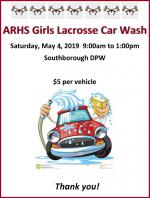 ARHS Girls Lacrosse Car Wash