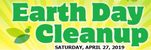 Post image for Save the Date: Earth Day Clean Up on Saturday, April 27