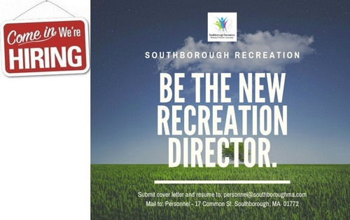 Post image for Southborough job listings: Recreation Director