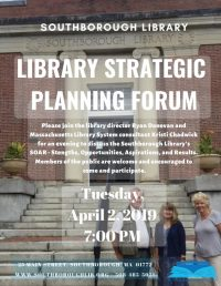Library Strategic Planning Forum flyer