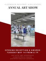 ARHS Spring Art Show flyer