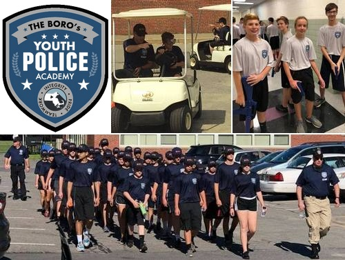 Post image for Boro's Youth Police Academy: July 29 – August 2