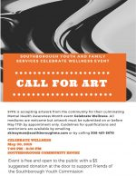 Call for Art and safe the date flyer