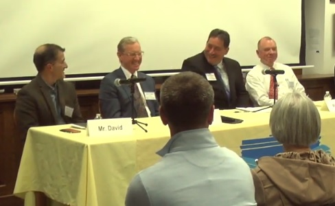 Post image for Candidates for Selectmen made their cases and addressed town issues at Candidates' Night