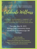 Celebrate Wellness exhibition flyer
