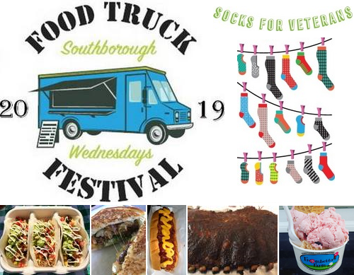 Post image for Food Truck Festival returns: Wednesdays, May 22 – June 12 (with Socks for Veterans drive)