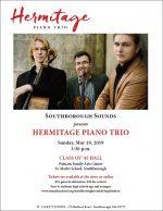 Hermitage Trio concert flyer