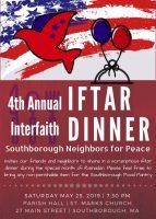 Iftar Dinner 2019 flyer