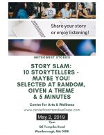 Metrowest Stories flyer