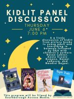 Kid Lit panel flyer