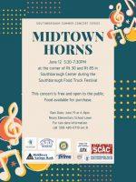 Midtown Horns flyer