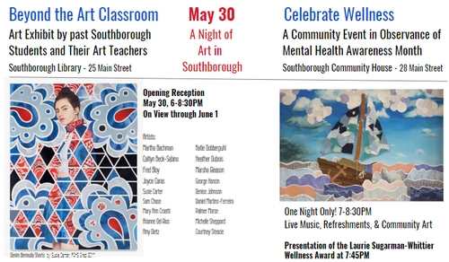 Post image for A Night of Art – May 30th receptions downtown