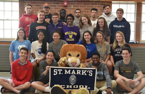 Post image for Southorough Lions commit to college sports programs