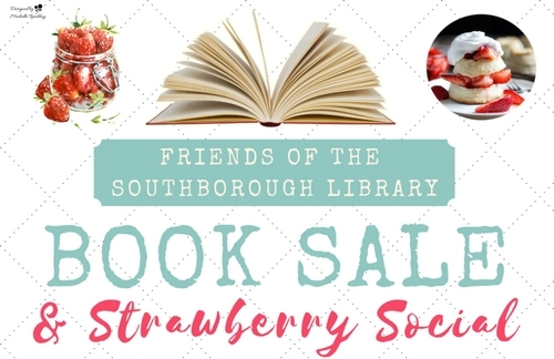 Post image for Weekend at a Glance: Library Book Sale, Strawberry Social, and Summer Food Drive for Pantry