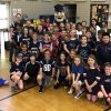 Woodward school Pat the Patriot visit