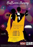 ballroom dancing flyer