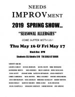 Needs IMPROVment flyer