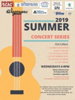 2019 Southborough Summer Concert series flyer