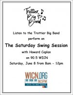 Saturday Swing Session flyer