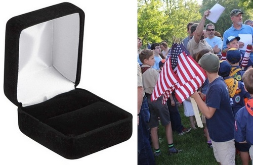 Post image for Lost and Found: Ring Found from Flag Replacement ceremony
