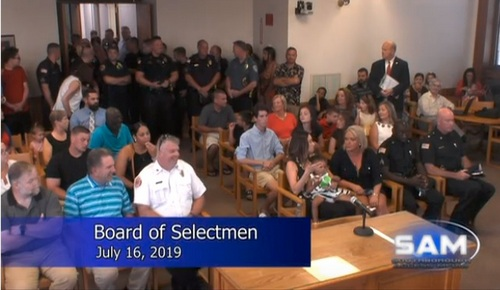 Post image for Selectmen promote new Lieutenant and Sergeant