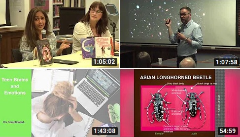 Post image for Library talks you missed: Presentations on invasives, dark skies, KidLit, and complicated teens