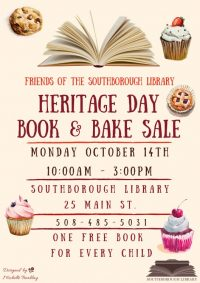 Heritage Day Book & Bake Sale