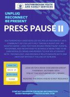 Press Pause flyer