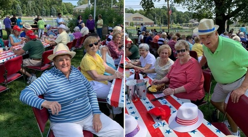Post image for Southborough seniors enjoy summer and end of summer picnics