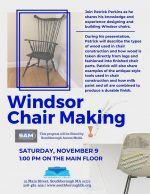 Updated flyer for Windsor Chair Making
