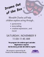 Drama Out of the Box flyer