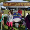 Vendors sold food/wares and promoted their businesses (contributed by Robert Bussey)