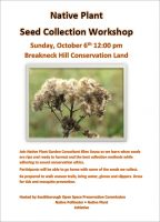 Native Plant Seed Collection Workshop