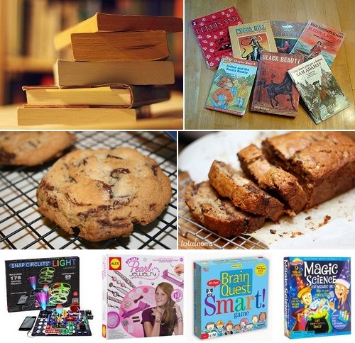 Post image for Friends of Library Sale: Books, Baked goodies, and a Kids' table <em>(crafts, science kits, games and more)</em>