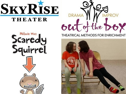 "Post image for Interactive theater for kids at the Library: Skyrise's ""Scaredy Squirrel"" & Drama Out of the Box"