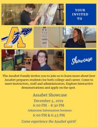 Assabet Showcase flyer