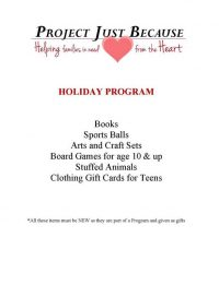 Holiday 2019 flyer - Southboro Fire Dept