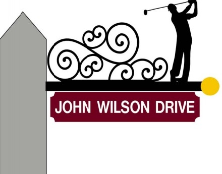 "Post image for Dedication to ""John Wilson Drive"" at the golf course – Sunday"