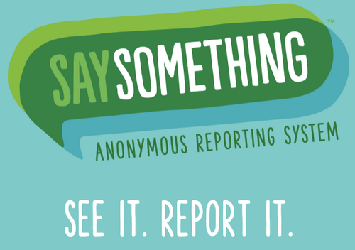 """Post image for Grade 6-12 students encouraged to """"Say Something"""" if they see something"""