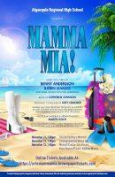 Mamma Mia! flyer