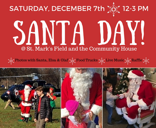 Post image for Mark your calendar: Santa flies into Southborough on Saturday, December 7