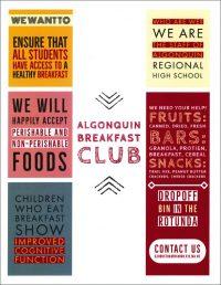 Algonquin Breakfast Club flyer