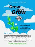 Grow Bean Grow flyer