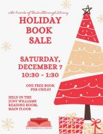 Holiday Book Sale flyer