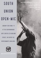 South Union Open-Mic flyer