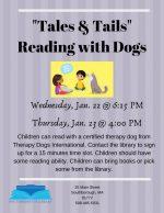 Tales & Tails flyer - Jan 2020