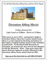 Downton Abbey flyer