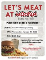 NSMA Jan 2020 Mooyah fundraiser flyer