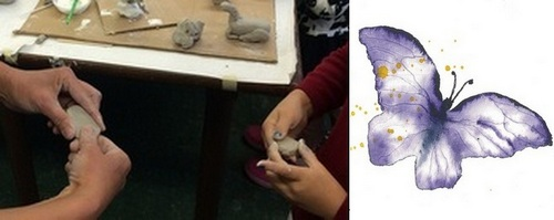 """Post image for Saturday """"Drop-in Art"""" Workshops for 5-10 yr olds"""
