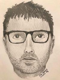 Sketch rendering of suspect